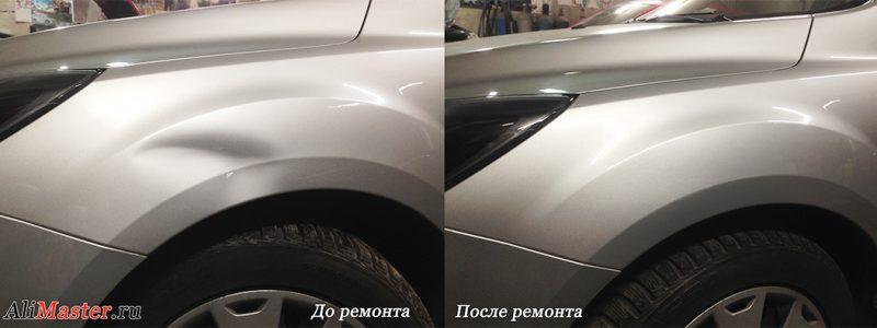 История PDR ремонта